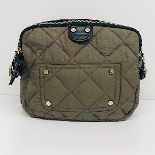 Sonia Rykiel Quilted Nylon Crossbody Bag