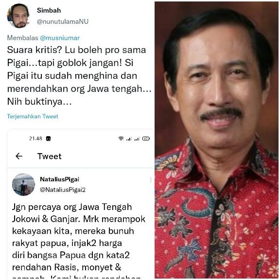 Usul Kasus Pigai Diselesaikan dengan Pendekatan  Kemanusiaan, Prof Musni Umar Disemprot Netizen
