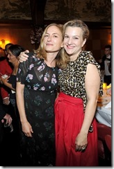 HOLLYWOOD, CA - MARCH 30: Director Zoe Cassavetes (L) and Vanity Fair executive west coast editor Krista Smith attend the Coach & Rodarte celebration for their Spring 2017 Collaboration at Musso & Frank on March 30, 2017 in Hollywood, California  (Photo by Donato Sardella/Getty Images for Coach)