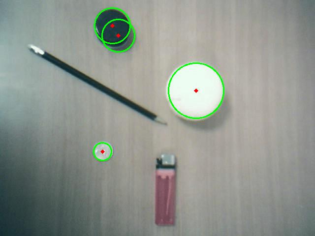 OpenCV detección de círculos