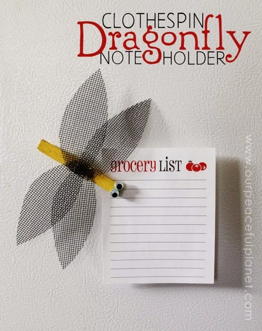 Clothespin-Dragon-Fly-Note-Holder-Tutorial