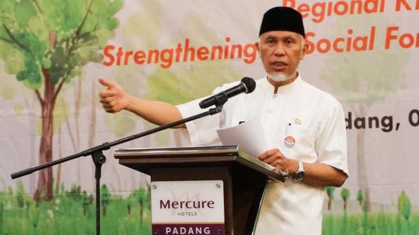 Gubernur Dukung Proyek SSF untuk Tingkatkan Kesejahteraan Masyarakat Sekitar Hutan