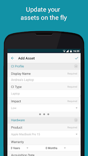 Freshservice Service Desk App- screenshot thumbnail