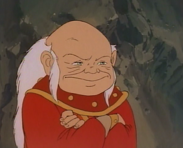 Dungeon Master smiling