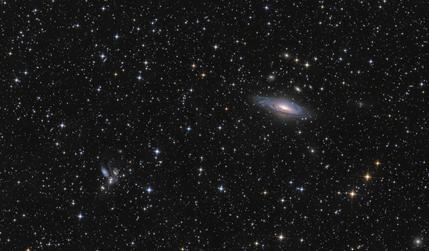 NGC 7331 e Quinteto de Stephan
