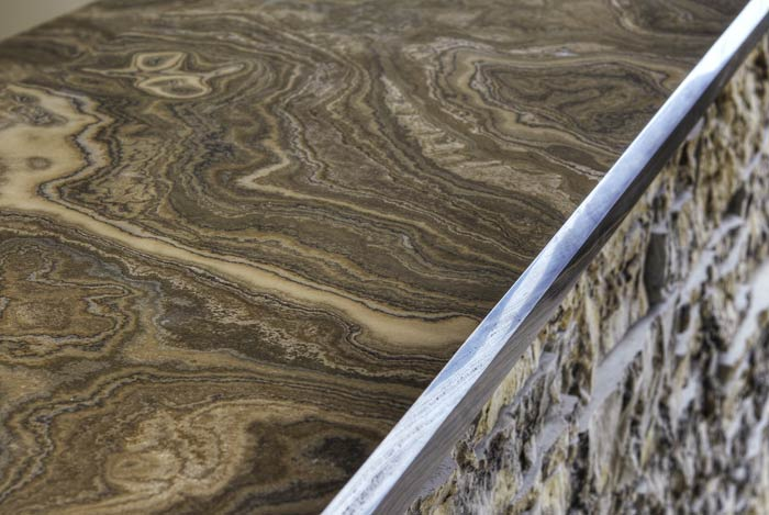 ... Eramosa Honed And Polished Fleuri Cut Countertop