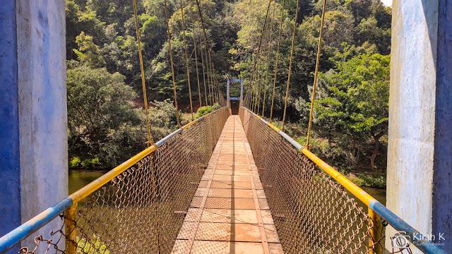 A hanging bridge on the way to Sringeri