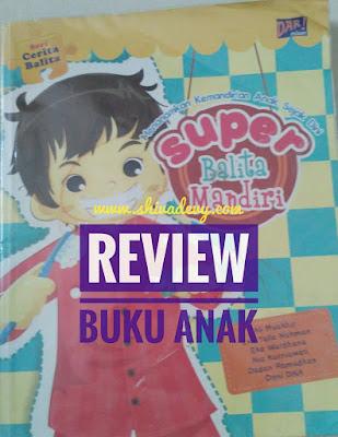 Review Buku Anak: Super Balita Mandiri (Paperback)