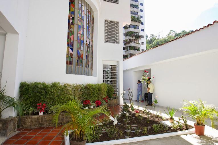 Parte lateral de la Quinta Marilinda, actual extensión del Conservatorio Simón Bolívar