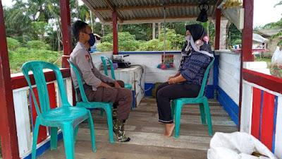 Fase New Normal, Polsek Belitang Imbau Warga Patuhi Protokol Kesehatan