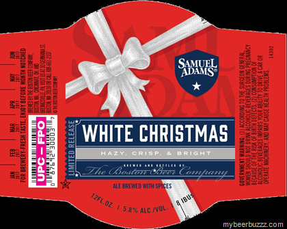 heres what samuel adams is dreaming about alreadywhite christmas 2016 this ale brewed with spices will hit 58 abv and youre looking at the 2016 12oz - White Christmas Sam Adams