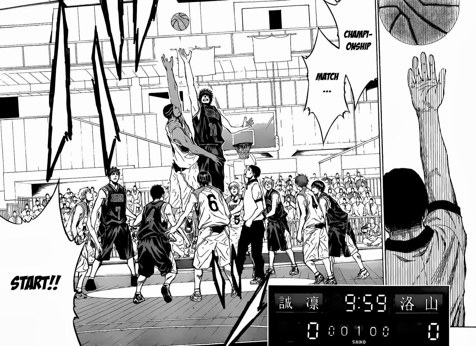 Kuroko no Basket Manga Chapter 232 - Image 06-07