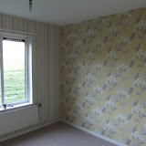 Wallpapering project in Skelmersdale, Lancs inc feature wall and complimenting wallpaper on other walls