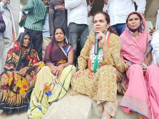 मधेपुरा/बिहारीगंज विधानसभा क्षेत्र के विकास के लिए दें वोट : सुभाषिनी बुंदेला