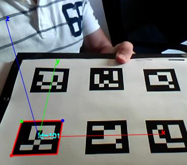 Calcular ejes (X,Y,Z) para realidad aumentada