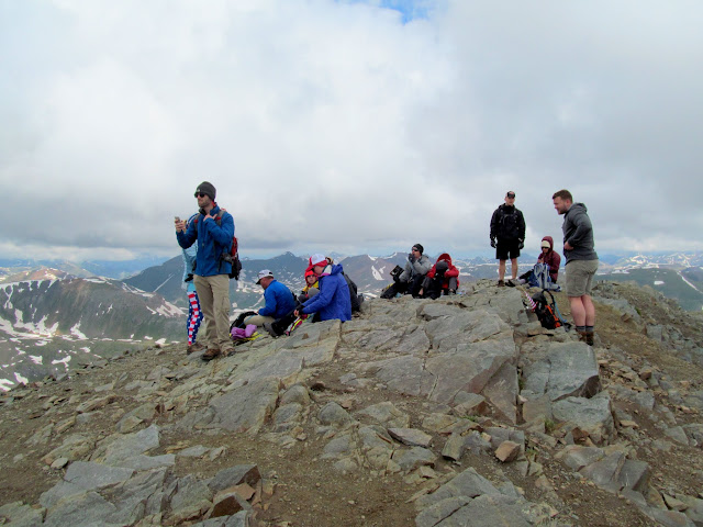 People at the summit