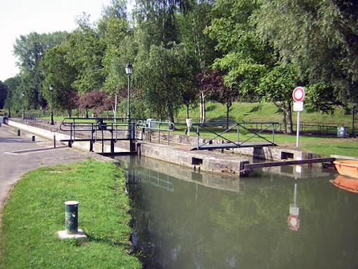 Canal de l'Ourcq - L'écluse de Varreddes © Mairie de Paris  / Service des canaux / G. Potignon.
