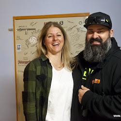 Katja (Marin Bikes) und Mich Schlecht Entwickler bei SQ-Lab  26.05.17.jpg