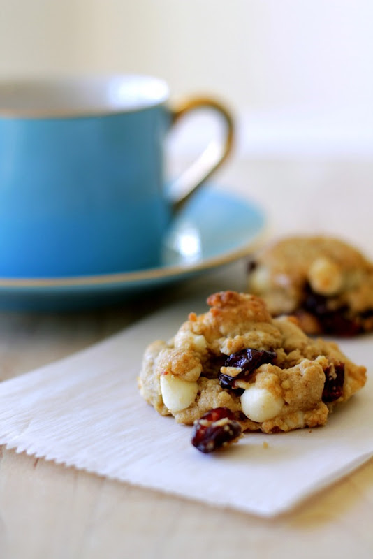 White Chocolate Cranberry Cookies 2