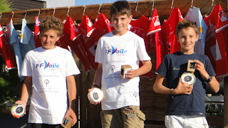 Voile Optimist Perpignan Champion