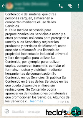 WhatsApp - Leer Más