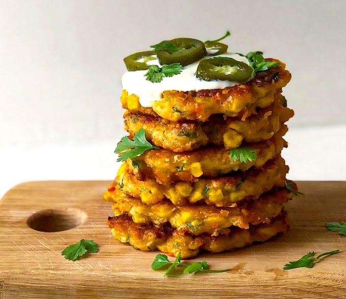 Corn Fritters Recipe | Breakfast Care
