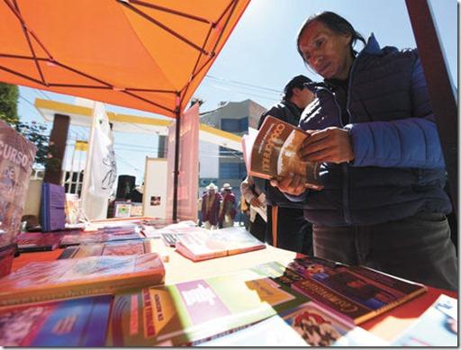 Libros en El Alto