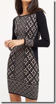 Oasis glitter knit dress