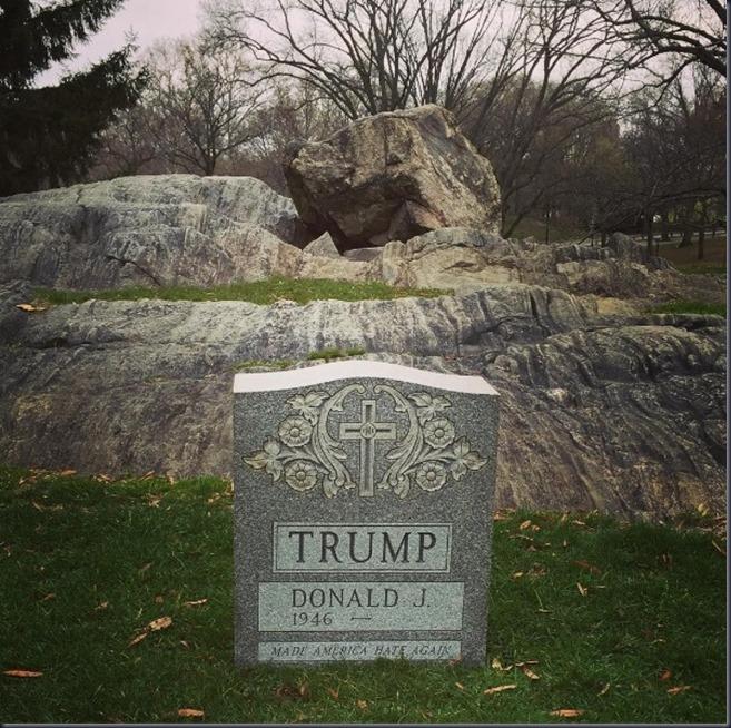 trump tomb