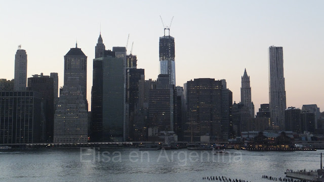 Manhattan at dusk, Brooklyn Heights, New York, Elisa N, Blog de Viajes, Lifestyle, Travel