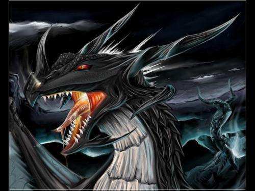 Black Dragon Lord, Dragons