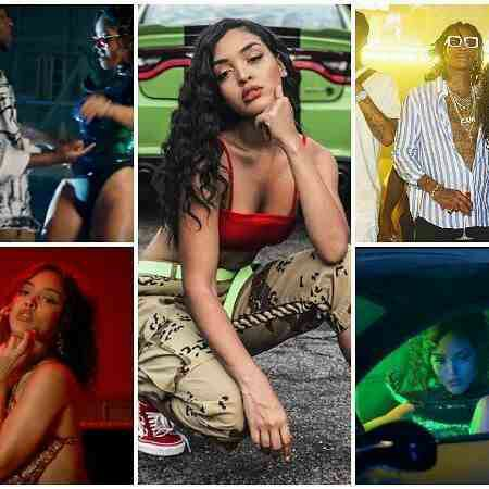 "Photos: Wiz Khalifa's New Girlfriend Is The Video Vixen In Davido's ""Pere"""