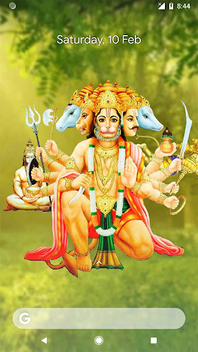 4D Hanuman Live Wallpaper 6.6 screenshots 2