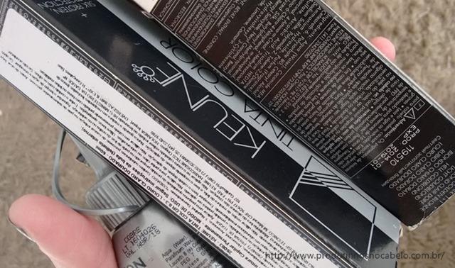 tintura Keune 8.3 cabelo ruivo