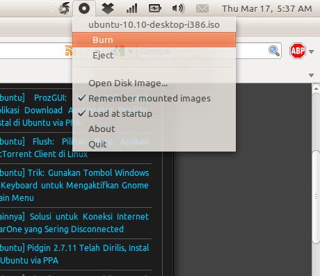 Mounty di Ubuntu 10.10 Maverick Meerkat