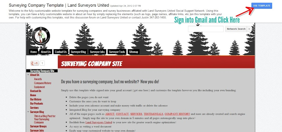 Installing Website