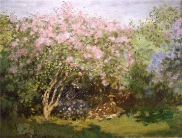 Lilacs in the sun - Monet
