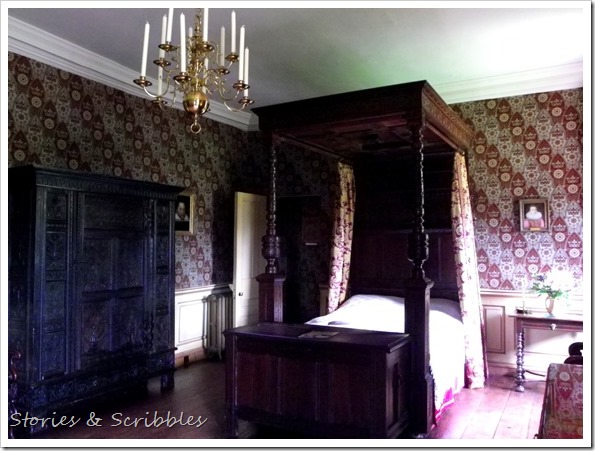 Dunster castle - King Charles Bedroom