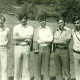18-6-1973,νεολαία του χωριού στην πανήγυρη Αγ.Τριάδας, Καλόγηροι.