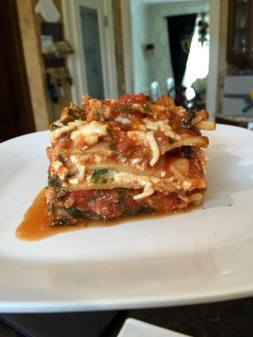 Pretty Little Feast Healthy Turkey Spinach Lasagna