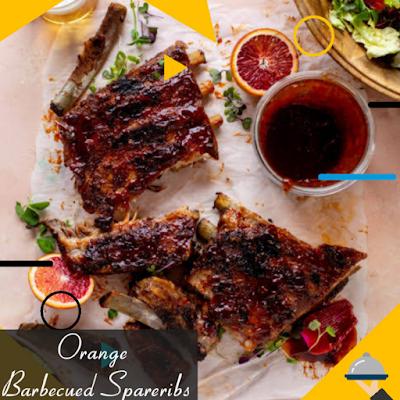 Orange-Barbecued Spareribs Recipe