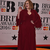 OIC - ENTSIMAGES.COM - Adele at the  The BRIT Awards 2016 (BRITs) in London 24th February 2016.  Raymond Weil's  Official Watch and  Timing Partner for the BRIT Awards. Photo Mobis Photos/OIC 0203 174 1069