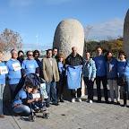La organización de la Carrera junto a D.Vicente del Bosque