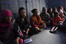 V táboře pro vnitřní uprchlíky Lamashang se Člověk v tísni věnuje ochraně nejzranitelnějších - žen a dětí. (Foto: Petr Drbohlav)