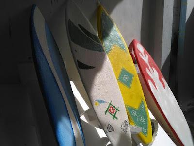 papan seluncur dari styrofoam