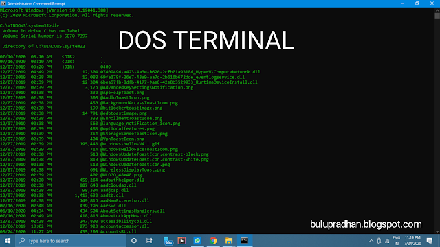 Windows Command Prompt Commands