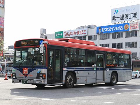 新潟交通 萬代橋線BRT ・718