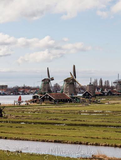Zaanse Schans - windmills