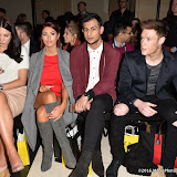 OIC - ENTSIMAGES.COM - Amy Childs and Junaid Ahmed at the  LFW a/w 2016: Ashley Isham - catwalk show in London 20th february 2016 Photo Mobis Photos/OIC 0203 174 1069
