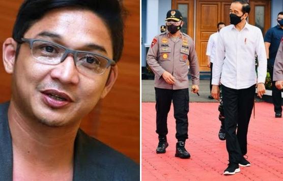 Pasha Ungu Soroti Penampilan Nyeleneh Jokowi sebagai Presiden